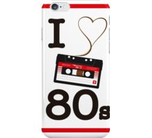 I luv 80s iPhone Case/Skin
