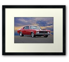 1970 Chevelle Super Sport 454 Framed Print
