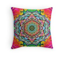 Mandala HD 2 Throw Pillow