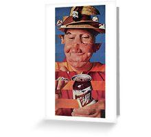Pop Glitch Greeting Card