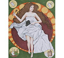 Ode to the Domestic Woman Photographic Print