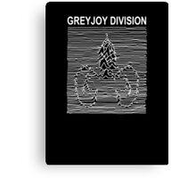 Greyjoy Division (Game of Thrones Shirt) Canvas Print