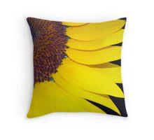 Vivid Yellow Throw Pillow