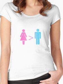 Equation? :-) Women's Fitted Scoop T-Shirt