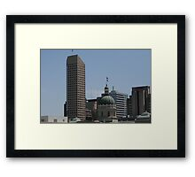 The State In The City Framed Print
