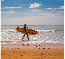 Female Surfer Photographic Print