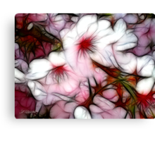 Pink Rhapsody Canvas Print