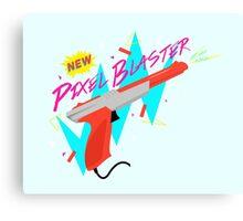 Pixel Blaster Canvas Print