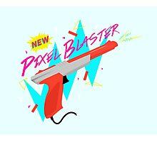 Pixel Blaster Photographic Print