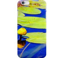 Even water celebrates with flowers iPhone Case/Skin