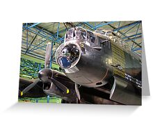 The Avro Lancaster - R.A.F. Museum Hendon Greeting Card