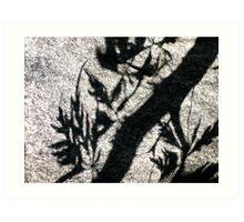 Ethereal Engraving Art Print