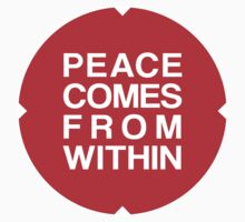 Peace Comes From Within by Bethany-Bailey