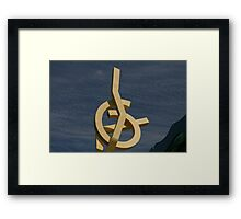 Yellow Art Framed Print