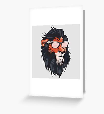 Cool Summerish Scar Greeting Card