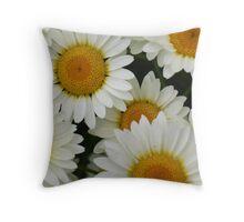 Happy Daisy  © Throw Pillow