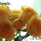 Love is anything but simple by Stacey Dionne