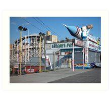Coney Island Astroland Art Print