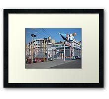Coney Island Astroland Framed Print