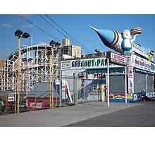 Coney Island Astroland Photographic Print