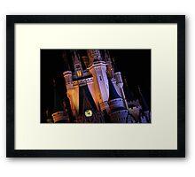 Night Castle Framed Print