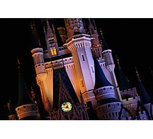 Night Castle Photographic Print