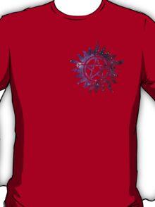 Supernatural Anti-Possession Galaxy Print T-Shirt