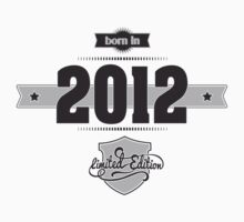 Born in 2012 Kids Clothes