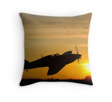 Hurricane Sunset Throw Pillow