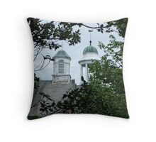 Two Steeples Throw Pillow