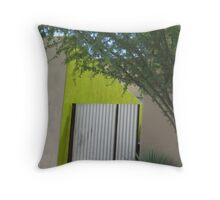 """a green thought in a green shade . . ."" Throw Pillow"