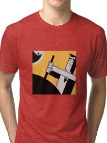 Professor Utonium Tri-blend T-Shirt