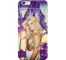 Halsey Palm Trees iPhone Case/Skin