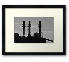 Old Industrial Framed Print