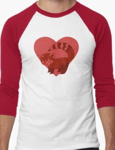 Love Red Pandas Men's Baseball ¾ T-Shirt