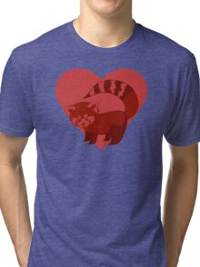 Love Red Pandas Tri-blend T-Shirt