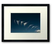 Leaving the Mothercloud Framed Print