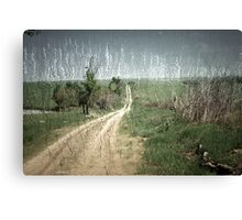 country roads.... Canvas Print