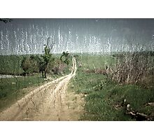 country roads.... Photographic Print