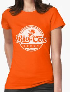 Big Cox farms Womens Fitted T-Shirt