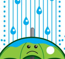 Rain Cloud Shirt Sticker