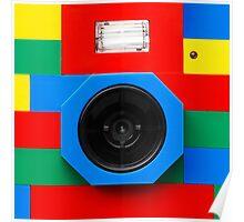 Lego Camera Poster