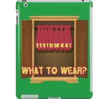What to Wear? Donkey Kong iPad Case/Skin