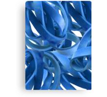 Entanglement in Cobalt Canvas Print