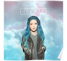 Halsey Cotton Candy Clouds Poster