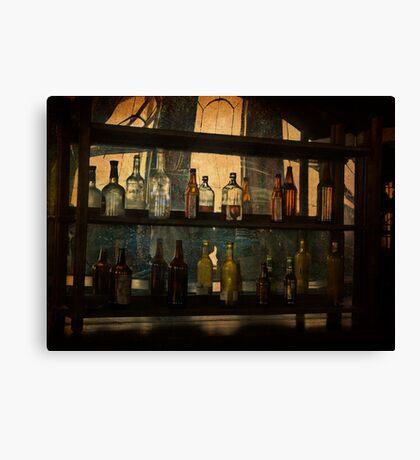 Behind the Bar Canvas Print