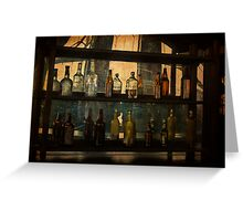 Behind the Bar Greeting Card