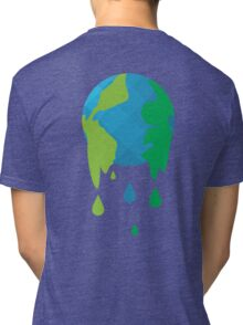 Wet Blue Planet Tri-blend T-Shirt
