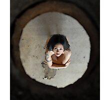 Raia- Under Hole 1 Photographic Print