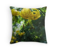 Canada Lily Throw Pillow